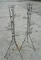 """Подставка для цветов """"Башня с декором на 7 чаш"""", фото 1"""