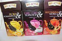 Чай чорний Big-Active  з лепистками роз