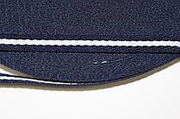 ТЖ 10мм елочка (50м) т.синий+белый , фото 1