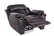 Шкіряне крісло-реклайнер Boston, розкладне крісло, крісло розкладне ліжко, крісло з реклайнером, реклайнер, фото 3