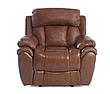 Кожаное кресло реклайнер Boston, раскладное кресло, кресло раскладушка, кресло с реклайнером, реклайнер, фото 5