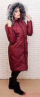 Женское зимнее пальто, искусственный мех