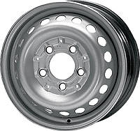 Стальные диски KFZ 8445 Mercedes Benz R15 W6 PCD5x130 ЕT83 DIA84 (silver)