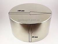 Магнит D100*H50, неодимовые магниты