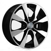 Литые диски Replay Opel (OPL55) R15 W6 PCD4x100 ET39 DIA56.6 (BKF)