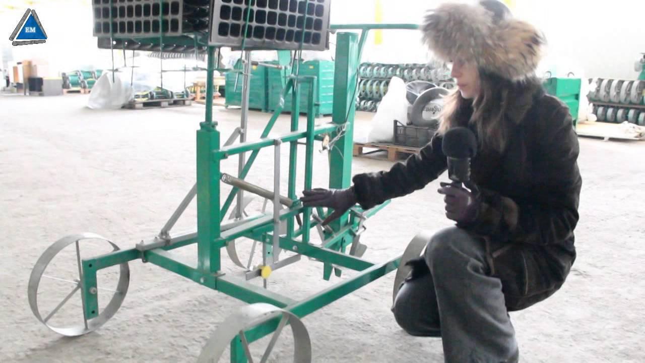 Ручная рассадопосадочная машина РРМ-1