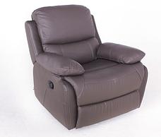 Польське шкіряне крісло-реклайнер - PORTLAND, фото 2