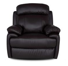Мягкое кожаное кресло с реклайнером - ORLANDO, фото 3