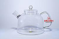 Чайник 1800 мл огнеупорное стекло, Для варки чая