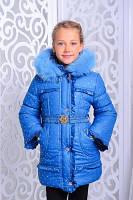 Детская зимняя куртка с меховой подкладкой