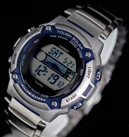 Часы Casio W-S210HD-1A