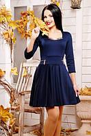 Женское темно-синее платье Грин 42-50 размеры