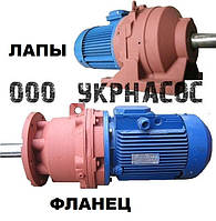 Мотор-редуктор 3МП-50-45-2,2 Украина Мотор-редуктор планетарный 3МП-50, фото 1