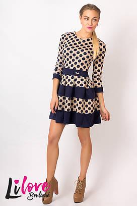 Женское платье №17-356