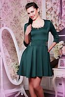 Женское  платье Грин бутылка 42-50 размеры