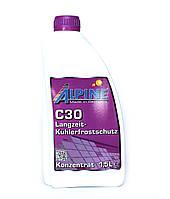 Охлаждающая жидкость / Антифриз Alpine C30 (концентрат) 1,5л