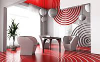 Гостиная в красных тонах № 48