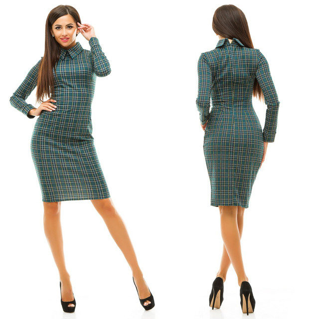 2b771751c2f6dea модель - 080 (платье) Материал: турецкий трикотаж клетка. Размеры: 42, 44,  46. Цвета: бордовый, красный, электрик, темно-зеленый. Длина: 90см