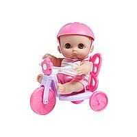Пупс JC Toys Мімі на велосипеді 22 см (JC16978)