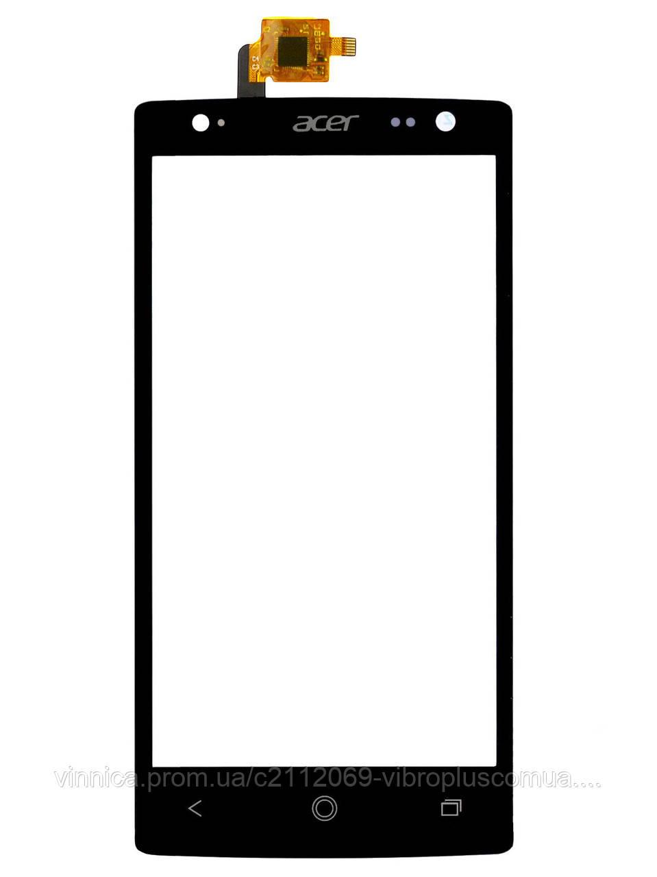 Тачскрин (сенсор) Acer E380 Liquid E3 DualSim, black (чёрный)