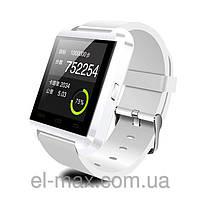 [ Умные Bluetooth часы Uwatch U8 сенсорные ] Smart Watch блютуз часыБелый