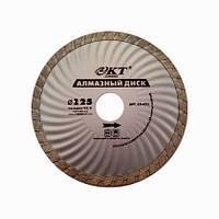 Алмазный диск КТ STANDART турбо 125*22