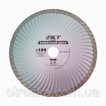 Алмазный диск КТ STANDART турбо 180*22