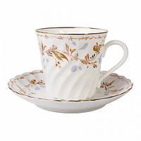 Чашка кофейная с блюдцем И.Ф.З. Витая Карелия 155 мл 15723