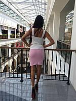 Женская юбка с драпировкой