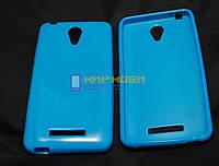 Чехол-бампер TPU силиконовый Prestigio MultiPhones 3504 DUO Muze C3 Голубой