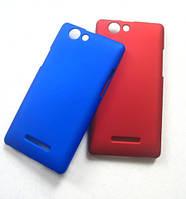 Чехол-бампер крышка пластик Gigabyte GSmart Roma R2 R2+ Синий