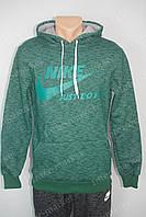 Мужская спортивная кофта NIKE зеленая