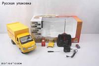 Р.У.Грузовик PLAY SMART 9128-3 доставка,с аксес.аккум.муз.свет,откр.двери.35*13*16