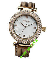 Золотис часы с кристаллами - элегантн аксессуар!!!