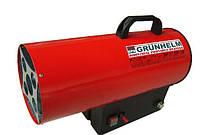 Газовий нагрівач Grunhelm GGH-15, 300 м. куб/год, газ пропан-бутан, макс витр палива 1,11 кг/год