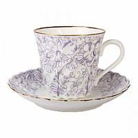 Чашка кофейная с блюдцем И.Ф.З. Витая Садик 155 мл 14255