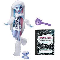 Кукла Эбби Боминебл базовая с питомцем (Monster High Abbey Bominable Doll Daughter of the Yeti)