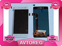 Дисплей Lenovo S90 Module белый для телефона