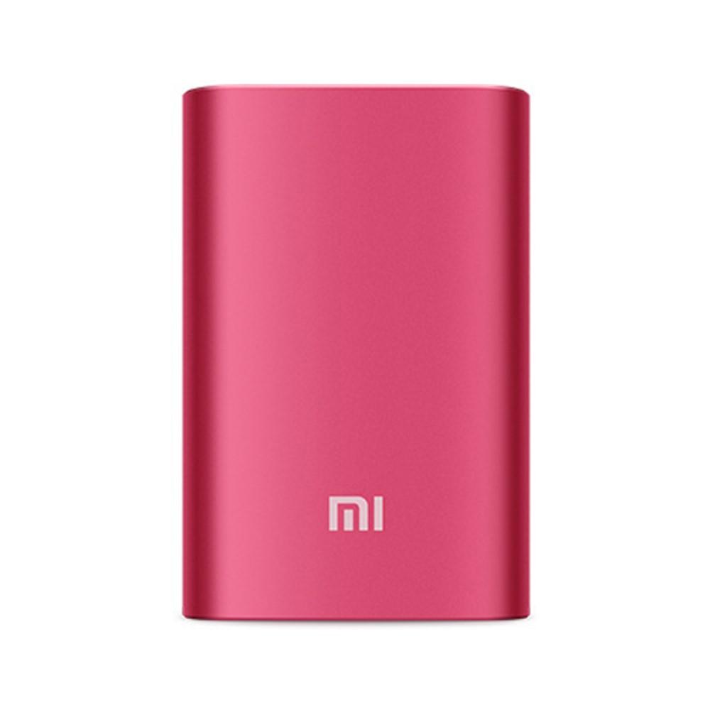 Внешний аккумулятор Xiaomi Mi Metal Power Bank 10000mAh красный