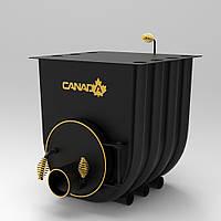 Печь буллерьян «Canada» тип 03 с варочной поверхностью (калориферная печь)