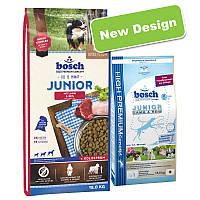 Сухий корм для собак BOSCH Junior lamb & rice 15 кг (ягня с рисом), фото 1
