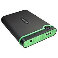 Жесткий диск 1024 Gb USB 3.0 Transcend Storejet TS1TSJ25M3 Black (TS1TSJ25M3B)