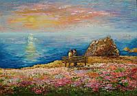 «Весна в Opal Cliffs» картина маслом