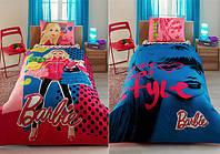 Комплект детского постельного белья TAC Disney Barbie Love Style (односпальное)