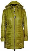 Женская осенняя куртка большого размера