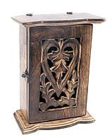 Ключница настенная деревянная