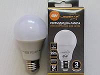 Светодиодная лампа LedStar A60 6W Е27 4000К