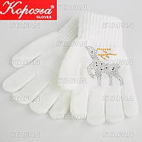 Детские перчатки с начёсом E5327S-4