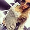 Оригинальный женский свитер