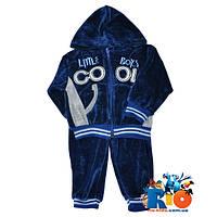 Детский костюм Cool демисезонные, на молнии, с капюшоном, для мальчиков,  1-2-3 лет